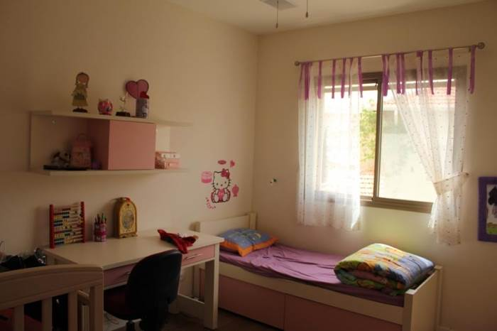בחדר הילדים תוכלו לשלב פרטים מעולם התוכן של הילד ולתת נגיעה של צבע אהוב (צילום: ג