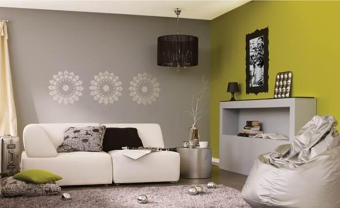 שבלונה סימטרית בגוון אחיד. תעשה טוב גם לסלון שלכם (צילום: טמבור)
