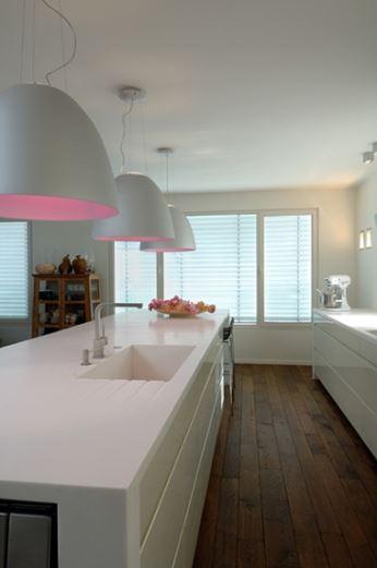 מותיר טעם של עוד - משטח קוריאן מהודר במטבח באדריכלות של פרי דוידוביץ