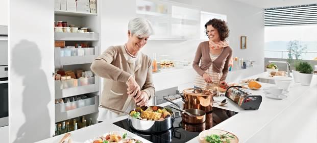 הסוד למטבח מושלם: ארגון נכון ופתרונות חכמים: המטבח של בלורן. צילום: יח
