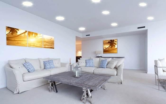 גופי תאורה סלוניים בטווח מחירים של 1000-2000 ש