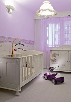 חדר הילדים צריך להיות מואר באופן אחיד, חדר ילדים בצבעי נירלט