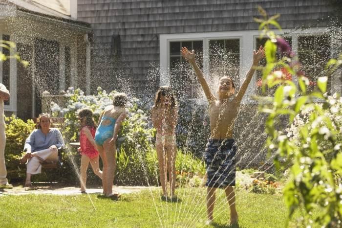 """""""כדאי להשקות את המדשאה בשעות הבוקר המוקדמות"""", (צילום: אילוסטרציה)"""