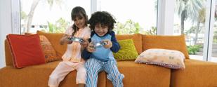 בטיחות ילדים בסלון
