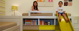 עיצוב חדרי ילדים: איך לעצב חדר משותף לבן ולבת?
