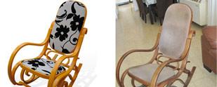 שיפוץ רהיטים: גלגולו של כסא נדנדה