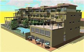 דירות נופש, אנגולה - אדריכל דורון שטיינברג