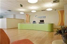 עיצוב פנים- משרדי חברת סינרון ביקנעם
