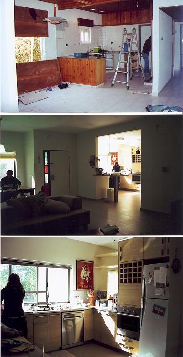 בית פרטי, עומר- לפני ואחרי