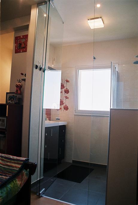 חדר מקלחת מעוצב, אדוה מורי, אדריכלות ועיצוב פנים