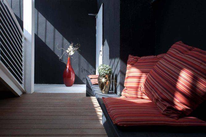 אזור ישיבה חיצוני בעיצוב סטודיו Niego Design