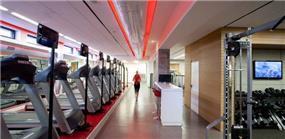 חדר כושר בעיצוב סטודיו Niego Design
