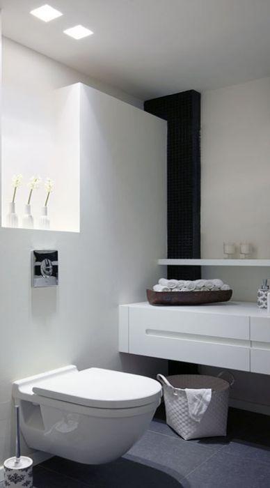 שירותי אורחים בעיצוב לבן