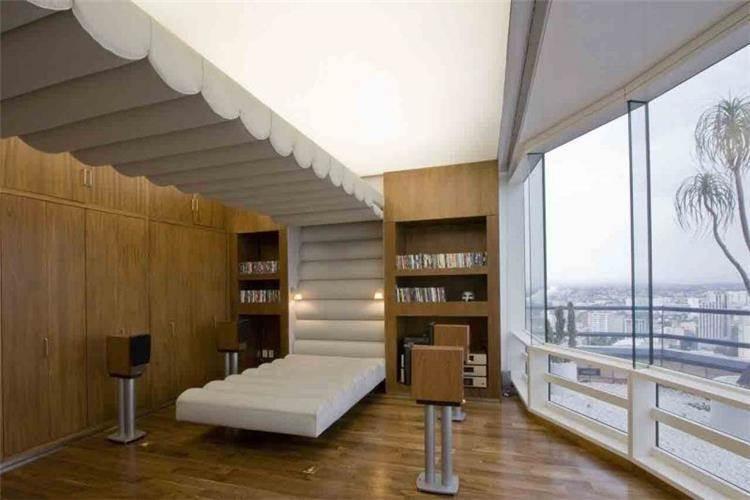 חדר קולנוע - b.bos architects