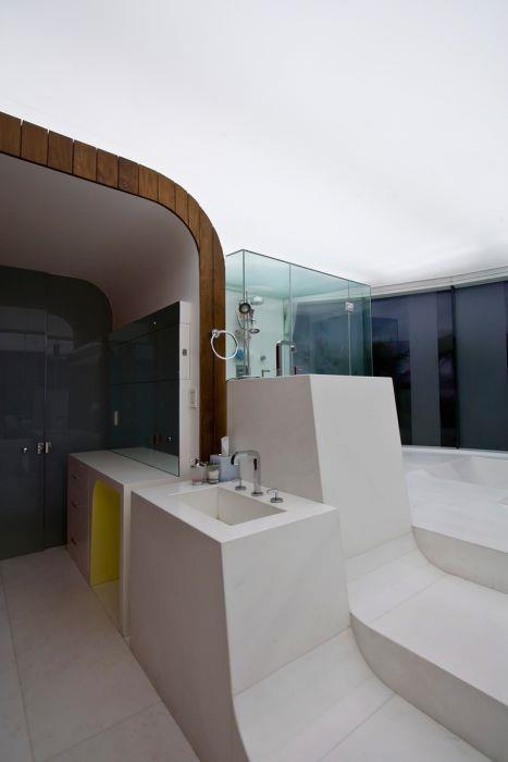 חדר אמבטיה - b.bos architects