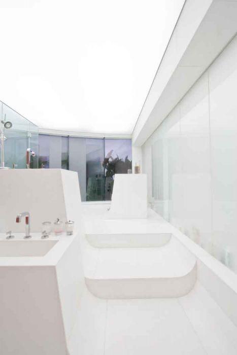 חדר האמבטיה - b.bos architects