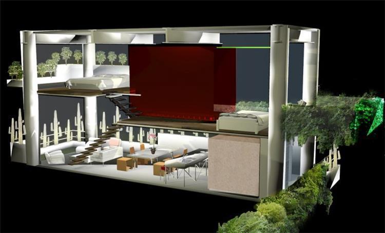 דירת לופט, מקסיקו סיטי - b.bos architects