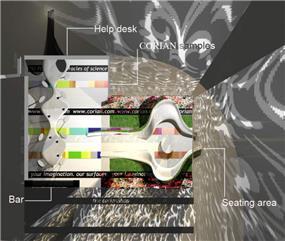 חדר התצוגה - b.bos architects