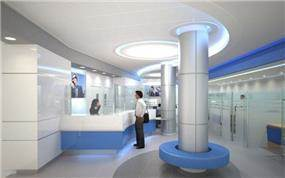 חלל ציבורי- בנק