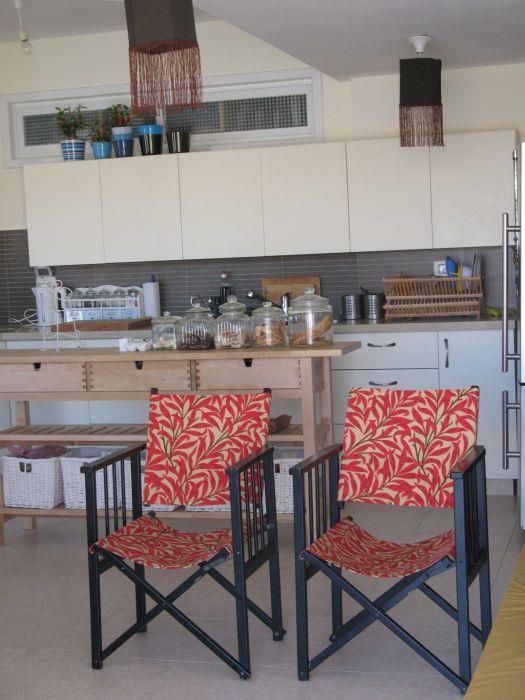 מבט למטבח- יחידת דיור נפרדת