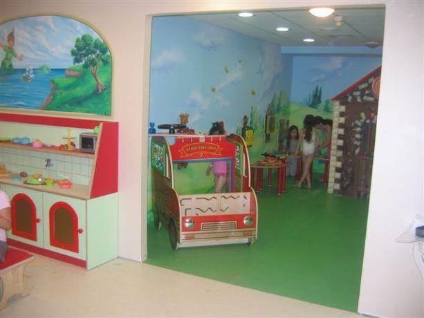 עיצוב מועדון הילדים של רשת מלונות פתאל סטודיו BENE