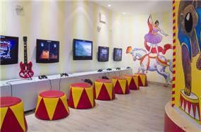 עיצוב מועדון הילדים והנוער של רשת מלונות פתאל בעיצוב סטודיו BENE