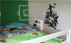 """""""חדר כדורגל"""" בתכנון סטודיו BENE"""