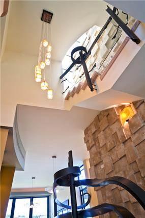 חלל מדרגות - בית פרטי בכפר כנא