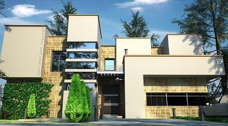 חזית בית פרטי בתכנון artintec