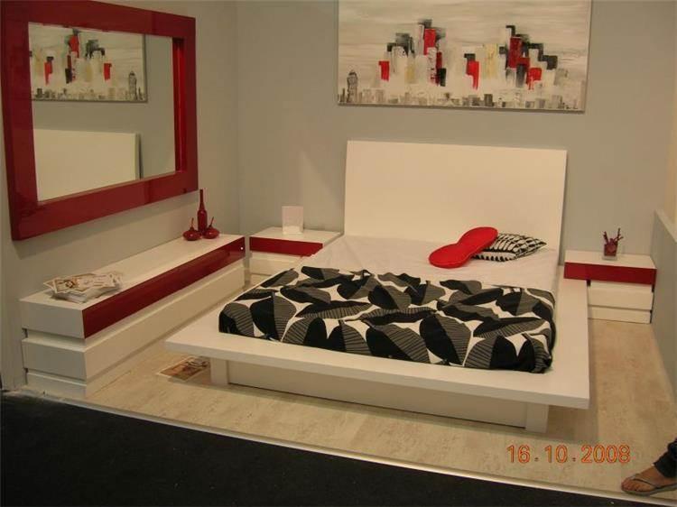 חדר שינה בצבע אפוקסי