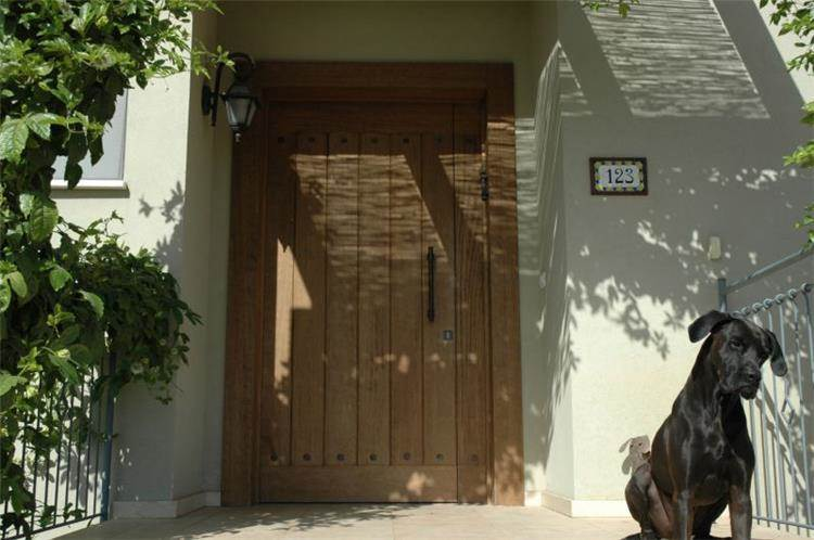 דלת כניסה - מיכל ביתן- עיצוב פנים
