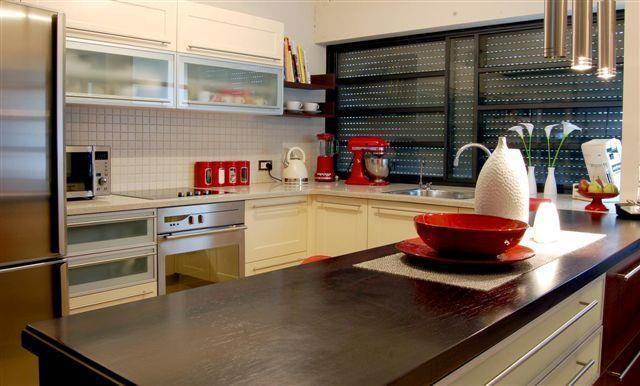 מטבח - ג'ודי פררה - תכנון אדריכלי ועיצוב פנים