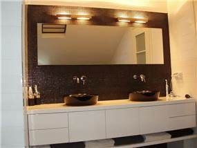 חדר אמבטיה - ג'ודי פררה - תכנון אדריכלי ועיצוב פנים