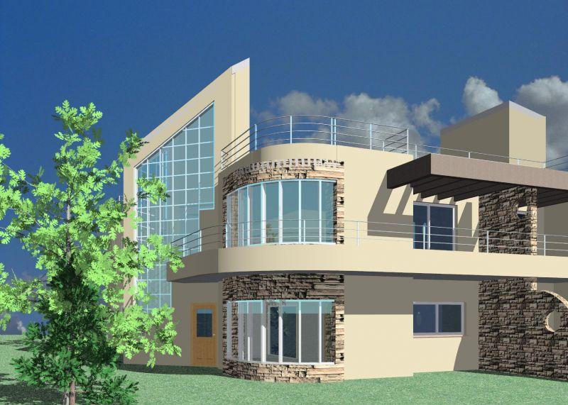 בית דו משפחתי - א. אדריכלים - אלינה אלדר (קליין)