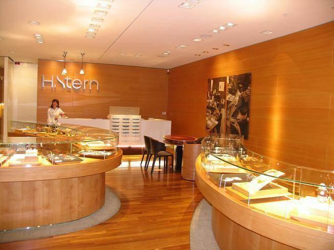 חנות תכשיטים, ה.שטרן, מוסקבה - בילי גרנות אדריכלות ועיצוב פנים