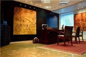 משרד ברמת-גן, מבט לחדר העבודה