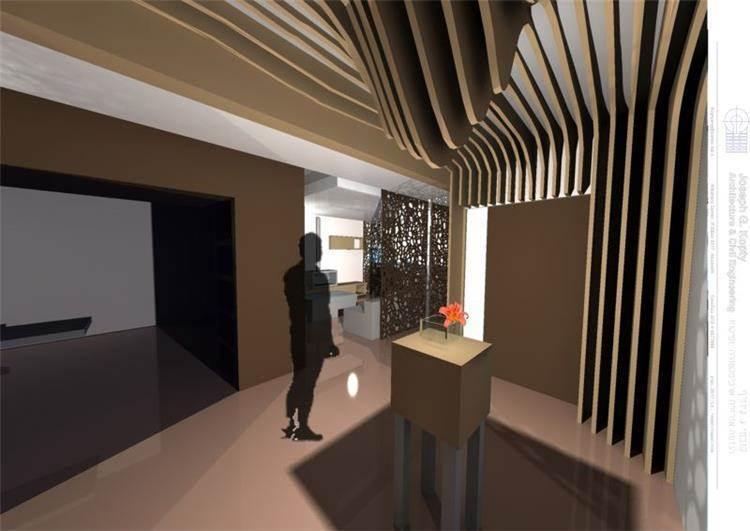 Sh. G Interior - Kopty Arch +