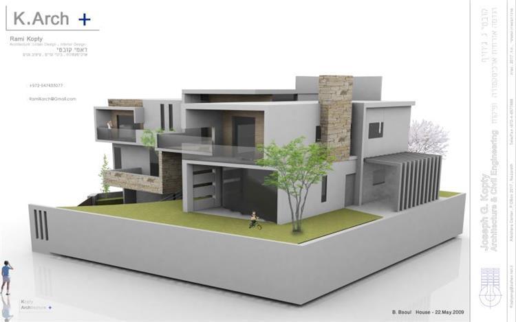 B.Bsoul House - Kopty Arch +