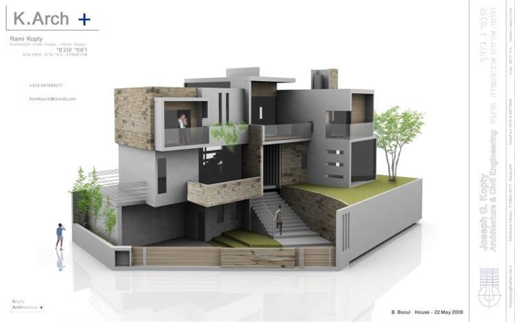 B. Bsoul House - Kopty Arch +