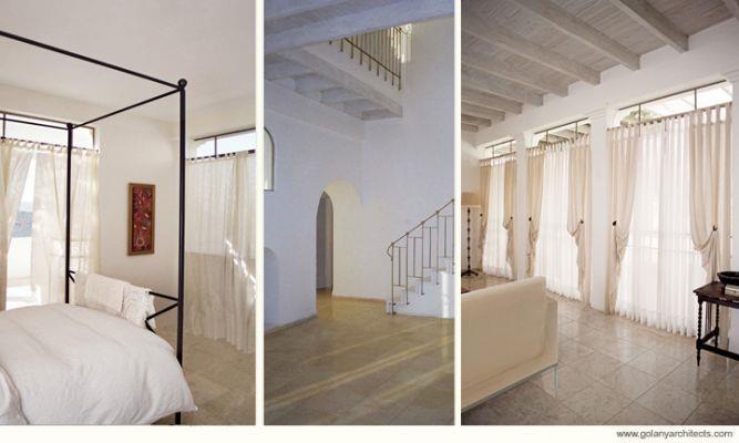 חדר שינה - עם חלונות גדולים , אור ונוף