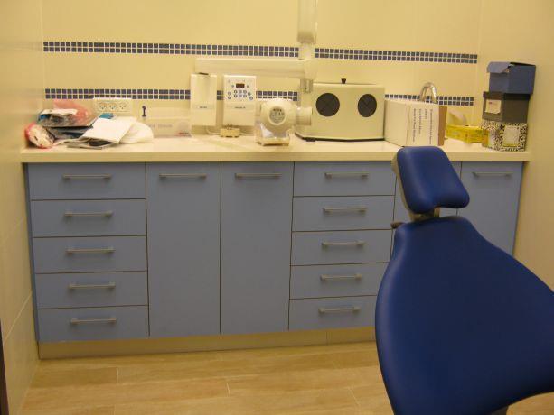 מרפאת שיניים - חדר כחול, עיצוב סיגל נייגרציק אבירם