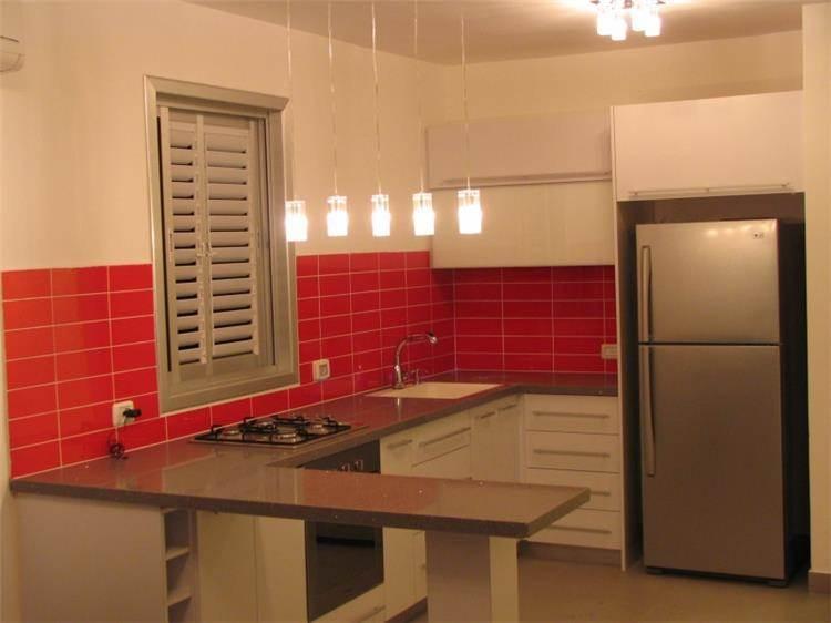 מטבח בדירת סטודיו, עיצוב סיגל נייגרציק אבירם
