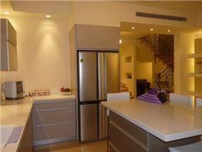 חלל המטבח - מבט מהאי, עיצוב סיגל נייגרציק אבירם