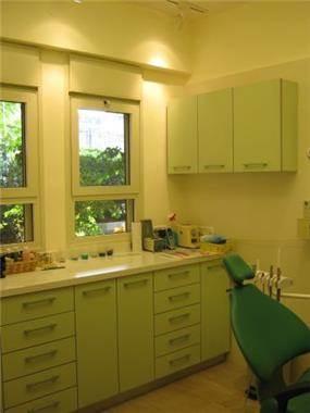 מרפאת שיניים - חדר ירוק, עיצוב סיגל נייגרציק אבירם