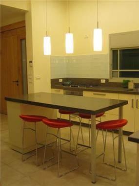 דלפק אוכל מרכזי במטבח, עיצוב סיגל נייגרציק אבירם