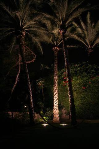 הארת נוף וילה פרטית, כפר שמריהו - איילון גביש - עיצוב ותכנון תאורה אדריכלית
