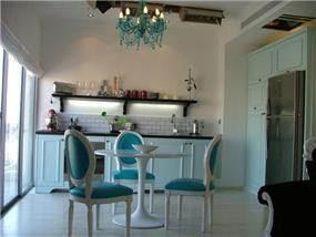 המטבח בדירה הזוכה בבלוק- גל ואסף
