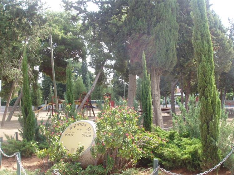 גינון לאנדרטה