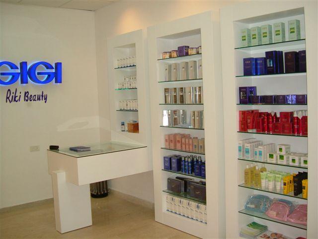 חנות הדגל -רשת GIGI  מלון אינטר קונטיננטל ת''א