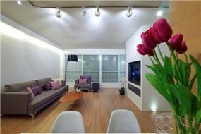 מבט אל הסלון, בעיצוב ניצן הורוביץ